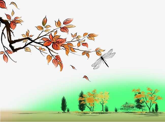 رسم منظر طبيعي باليد , اجمل مناظر طبيعية مرسومة باليد