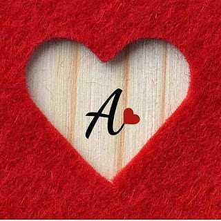 خلفيات حرف a رومانسية , اجمل صور خلفيات حب حرف a رومانسية
