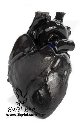 صور قلب اسود