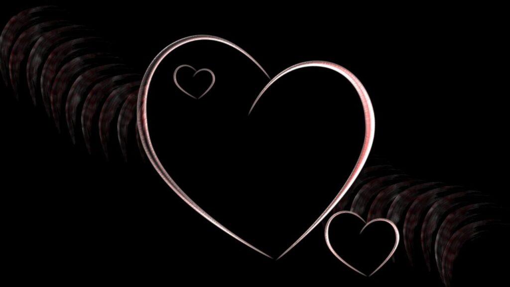 صور قلب أسود