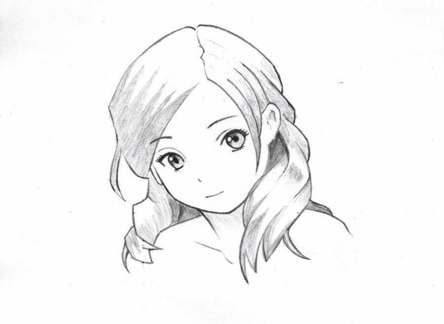 صور رسم انمي ـ اجمل رسومات انمي بنات واولاد كيوت