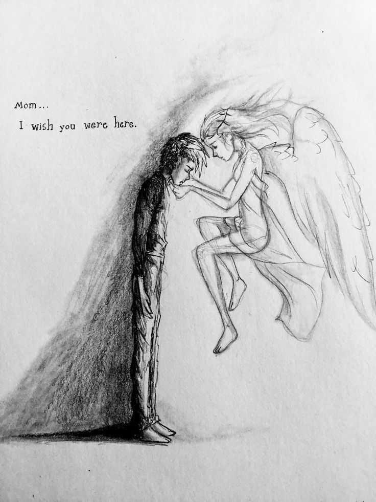 رسومات حزينة جدا بالقلم الرصاص