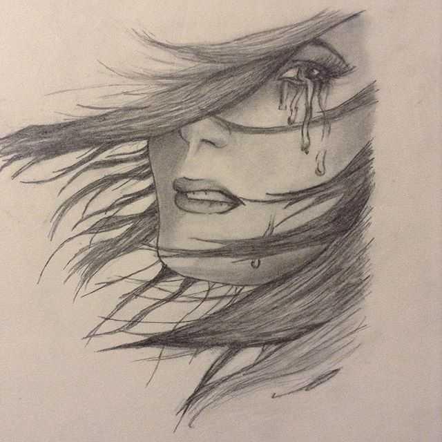 رسومات حزينة