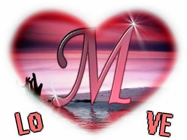 حرف m في قلب ـ اجمل صور حرف m في قلب حب